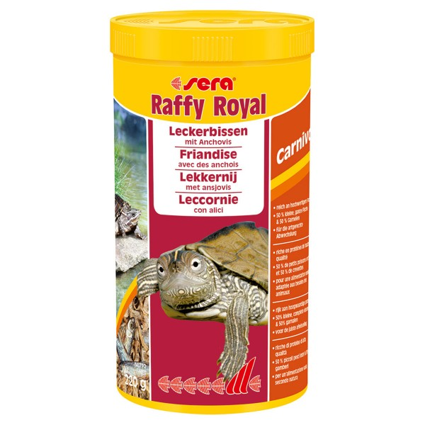 Sera Schildkrötenfutter Raffy Royal - 1000 ml