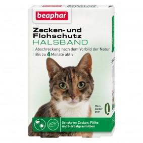 beaphar Zecken- und Flohschutz Halsband für Katzen 35cm
