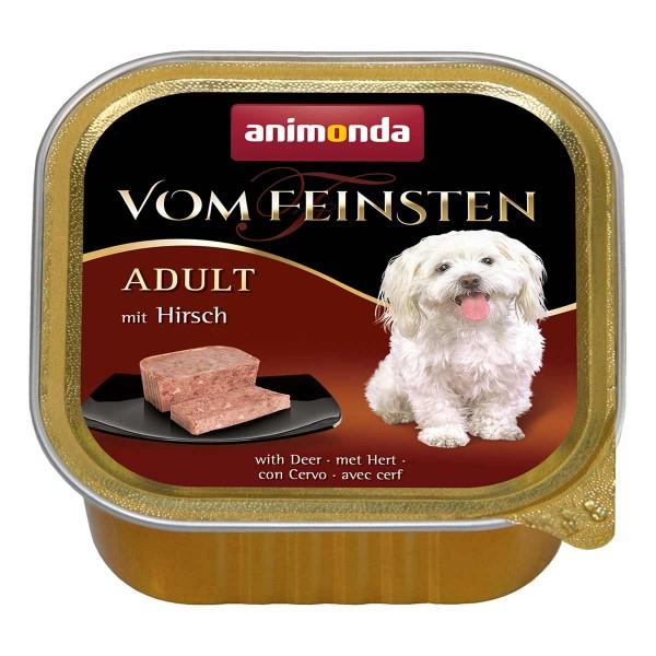Animonda Hundefutter Vom Feinsten Adult mit Hirsch