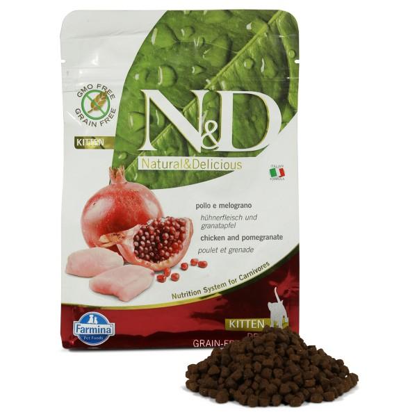 N&D Katzenfutter Huhn&Granatapfel Kitten getreidefrei
