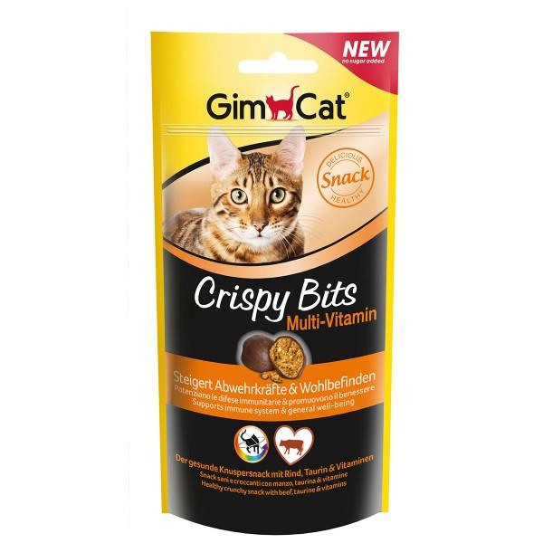GimCat Katzensnacks Crispy Bits Multi-Vitamin 40g