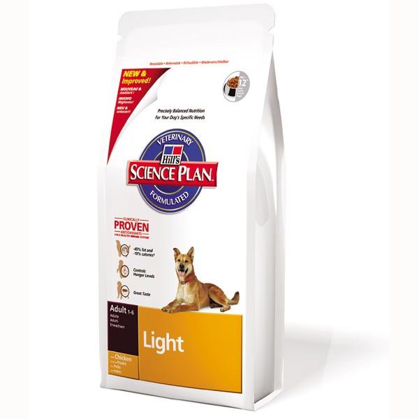 Hill's Canine Adult Light mit Huhn