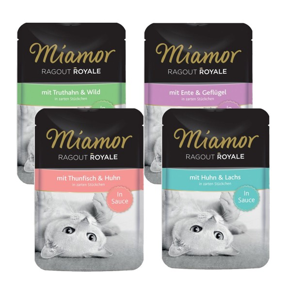 Miamor Ragout Royale in Sauce Multipack 12x100g