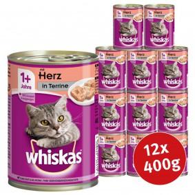 Whiskas Katzenfutter 1+ Terrine 12x400g