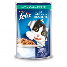 Felix So gut wie es aussieht mit Thunfisch 40x100g