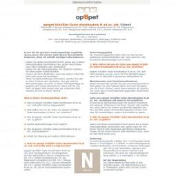 apopet Schüßler Salz Kombination N (Nerven)