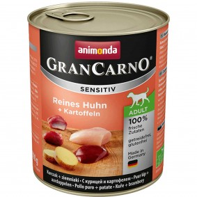 Animonda Nassfutter Grancarno Sensitiv Huhn & Kartoffel