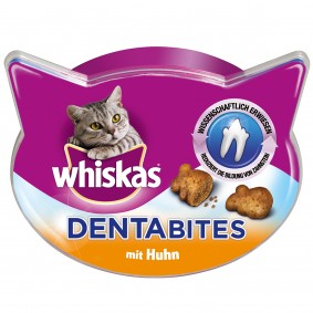 Whiskas snacks pour chats « Dentabites » au poulet 40 g