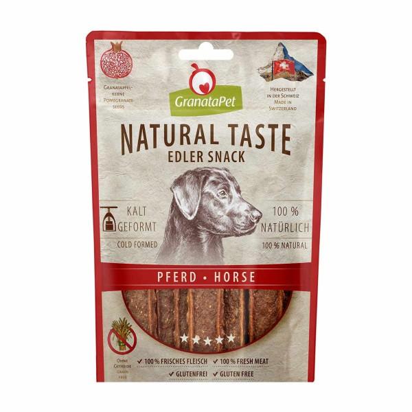 GranataPet Natural Taste Edler Snack Pferd