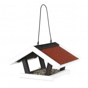 Trixie Natura Futterhaus zum Aufhängen rot/weiß