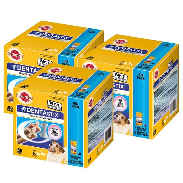 Pedigree DentaStix für kleine Hunde 150+18 Gratis