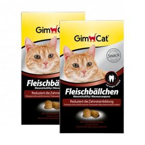 Gimcat Boulettes de viande pour chats 2x100g