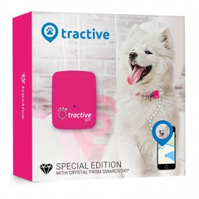 Tractive GPS Pink-Edition
