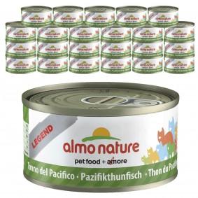 Almo Nature Legend Katzenfutter 24x70gPazifik-Thunfisch 20+4 gratis