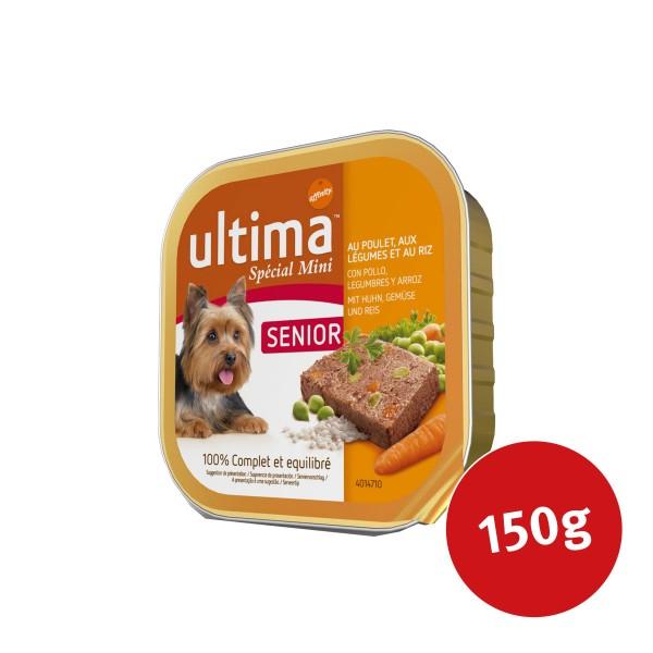 Ultima Dog Nassfutter Senior Huhn und Gemüse