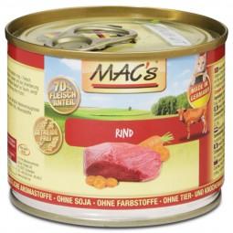 MAC's Cat Katzenfutter Fleischmenü mit Rind