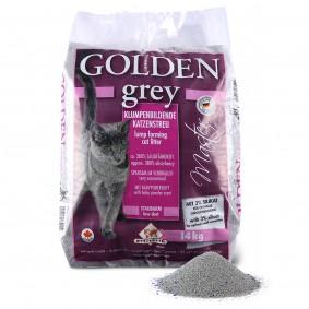 Golden Grey Master Litière pour chat avec parfum de poudre pour bébé