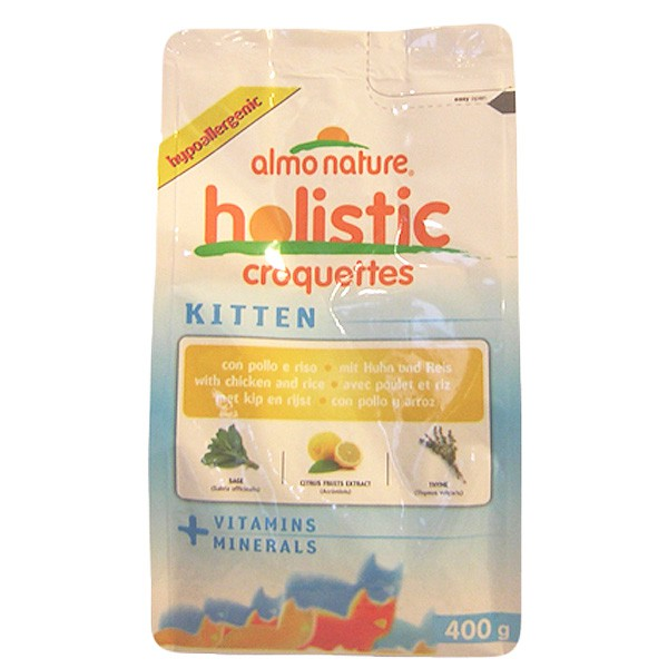 Almo Nature Holistic Cat Kitten Huhn+Reis - 400g