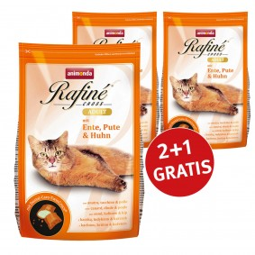 Schipkau Schipkau Angebote Animonda 2+1 Gratis Rafine Cross Adult Ente, Pute & Huhn 400g
