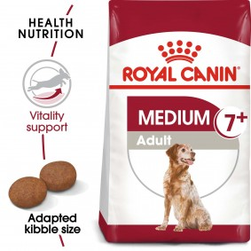 ROYAL CANIN MEDIUM Adult 7+  Trockenfutter für ältere mittelgroße Hunde