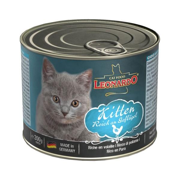 Leonardo Katzennassfutter Kitten