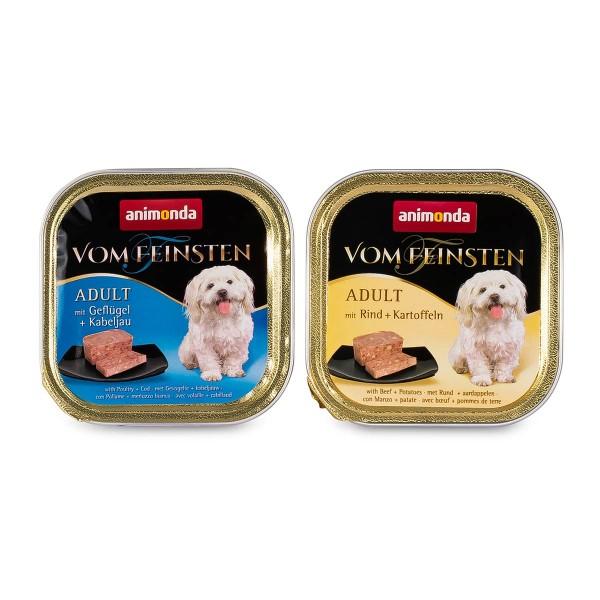 Animonda Hundefutter Vom Feinsten Mixpaket 2 Adult 22x150g