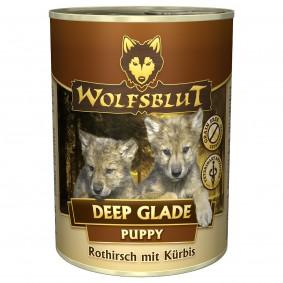 Wolfsblut Deep Glade Puppy mit Rothirschfleisch