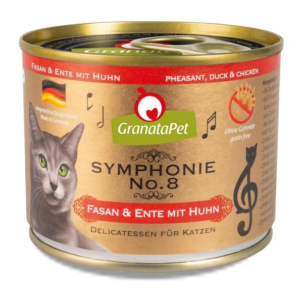 GranataPet Symphonie No. 8 Fasan & Ente mit Huhn