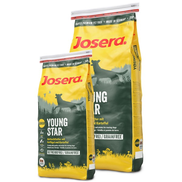 Josera Hundefutter Junior YoungStar 4kg plus 1,5kg gratis