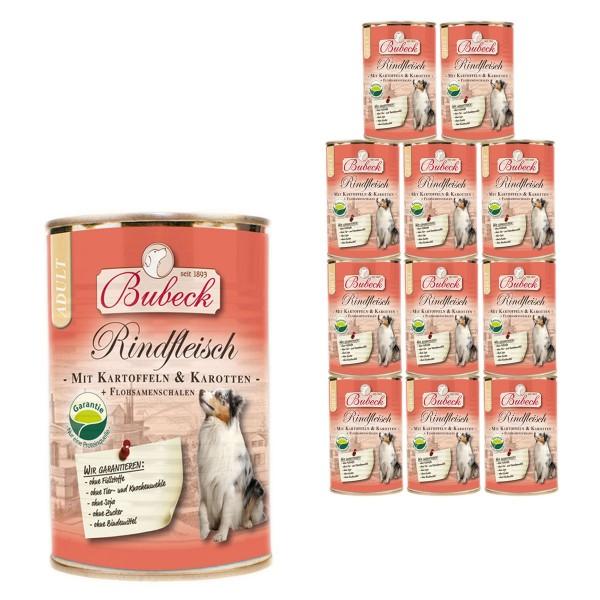 Bubeck Rindfleisch mit Kartoffeln & Karotten 12x410g