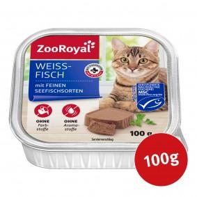 ZooRoyal Katzenfutter Weißfisch mit feinen Seefischsorten