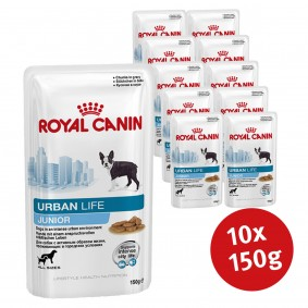 Royal Canin Hundefutter Urban Junior Dog 10x150g
