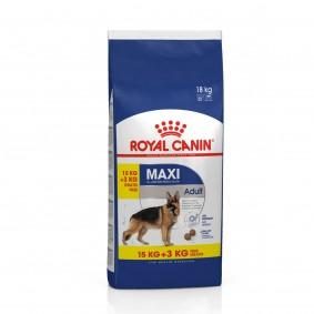 ROYAL CANIN MAXI Adult Trockenfutter für große Hunde 15+3kg