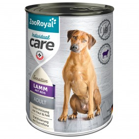 ZooRoyal Individual care - Adult Sensitive Lamm mit Reis