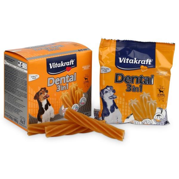 Vitakraft Hundesnack Dental 3in1 Multipack 4 Stück