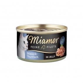 Miamor Feine Filets Skipjack-Thunfisch in Jelly