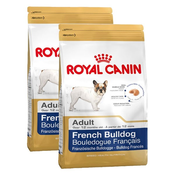 Royal Canin Hundefutter French Bulldog Adult 2x9kg