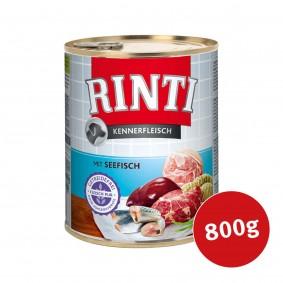 Rinti Hunde-Nassfutter Kennerfleisch mit Seefisch
