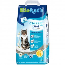 Biokat's Classic Fresh 3in1 Cotton Blossom Papier