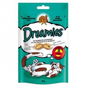 Dreamies Katzensnack mit Schmackhafter Pute 60g