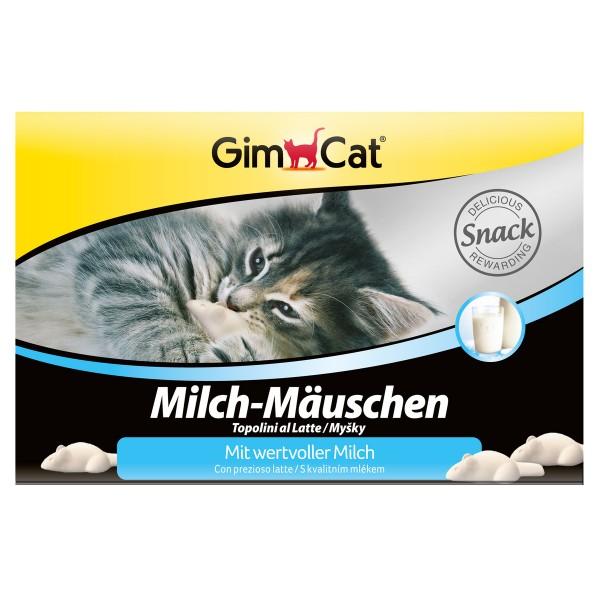GimCat Katzensnack Milch-Mäuschen 12 Stück