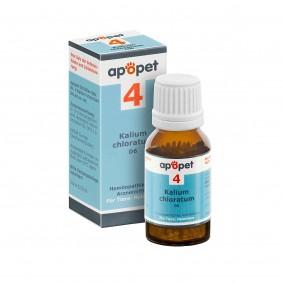 apopet Schüßler Salz Nr. 4 Kalium chloratum D6