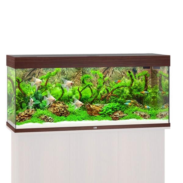 Vorschaubild von Juwel Rio 240 LED Komplett Aquarium ohne Schrank - Dunkles Holz
