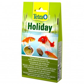 Tetra Pond Ferienfutter Holiday 98g