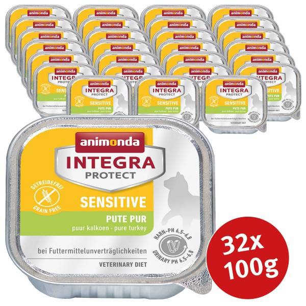 Animonda Katzenfutter Integra Protect Sensitive 32x100g