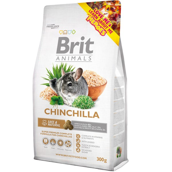 Haustier: Brit Animals Chinchilla Complete 1,5kg