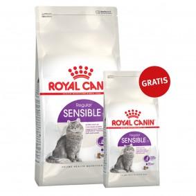 Royal Canin Katzenfutter Sensible 33- 10kg+2kg gratis