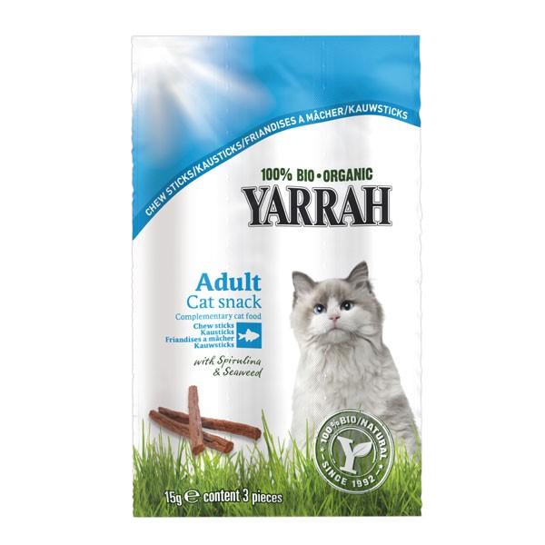 Yarrah Katzensnack Bio Kausticks 3x5g