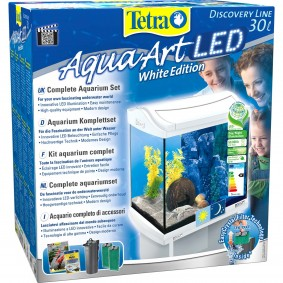 Tetra AquaArt LED Aquarium-Komplett-Set weiß 20