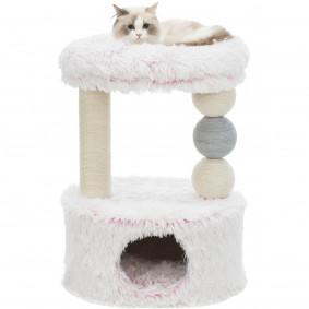 Trixie Kratzbaum Harvey 73 cm weiß pink